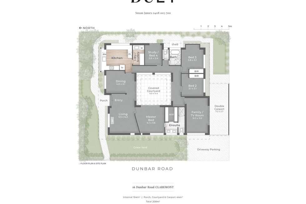 Floorplan of Homely house listing, 16 Dunbar Road, Claremont WA 6010