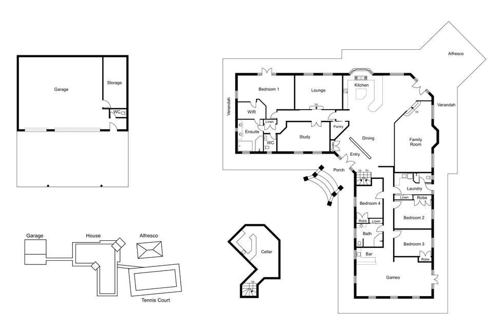 Floorplan of Homely residentialLand listing, 141 Gemmell Road, Argyle WA 6239
