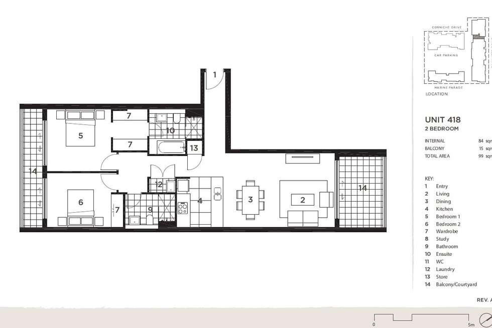 Floorplan of Homely apartment listing, 418/16 Baywater Drive, Wentworth Point NSW 2127