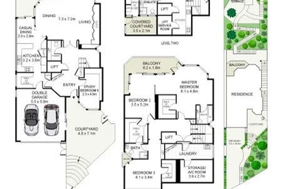 Floorplan of Homely house listing, 65 Seaforth Crescent, Seaforth NSW 2092