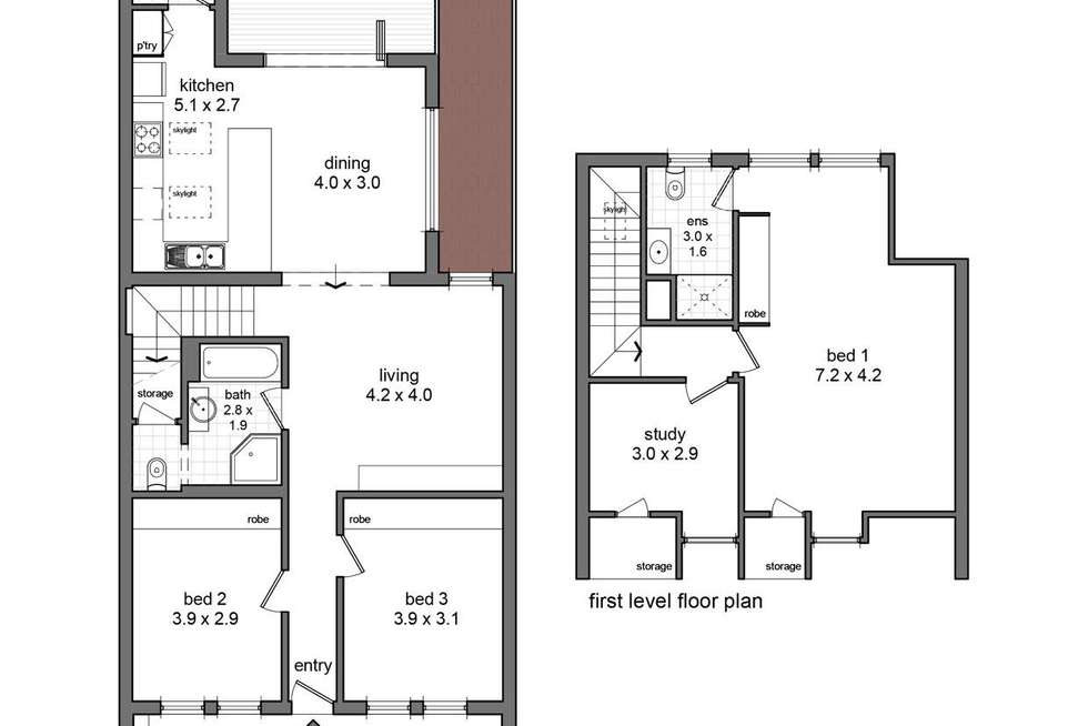 Floorplan of Homely house listing, 70 Young Street, Annandale NSW 2038