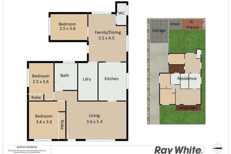 Floorplan of Homely house listing, 15A Edden Street, Adamstown NSW 2289