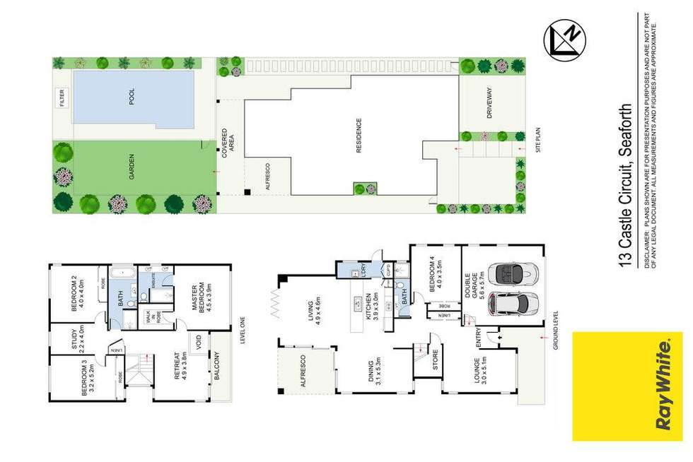 Floorplan of Homely house listing, 13 Castle Circuit, Seaforth NSW 2092