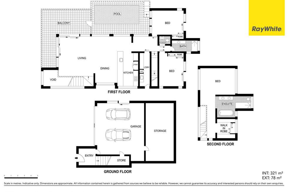Floorplan of Homely house listing, 19 Nairana Rest, Noosa Heads QLD 4567