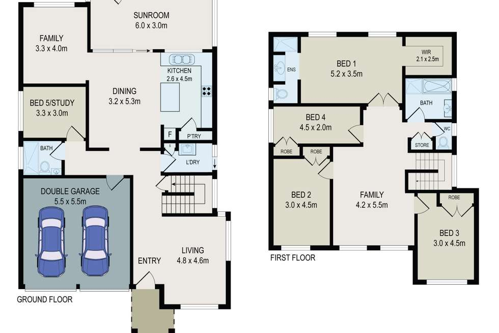 Floorplan of Homely house listing, 44 William Street, Holroyd NSW 2142