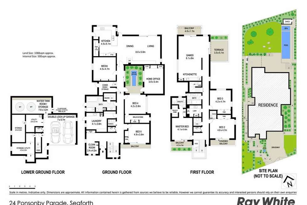 Floorplan of Homely house listing, 24 Ponsonby Parade, Seaforth NSW 2092