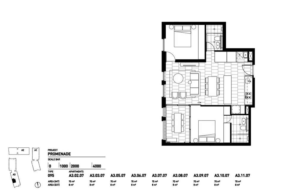 Floorplan of Homely apartment listing, 207c/3 Broughton Street, Parramatta NSW 2150