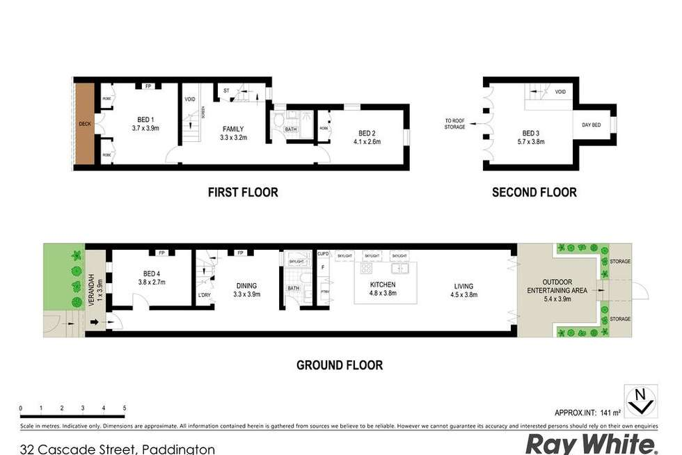 Floorplan of Homely house listing, 32 Cascade Street, Paddington NSW 2021