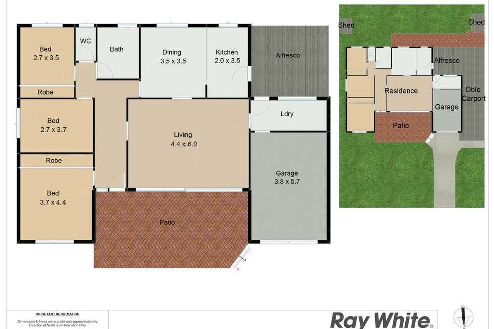 Floorplan of Homely house listing, 7 De Guerry Avenue, Rankin Park NSW 2287