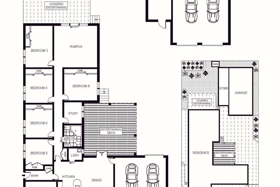 Floorplan of Homely house listing, 22 Dowthwaite Street, Fraser ACT 2615