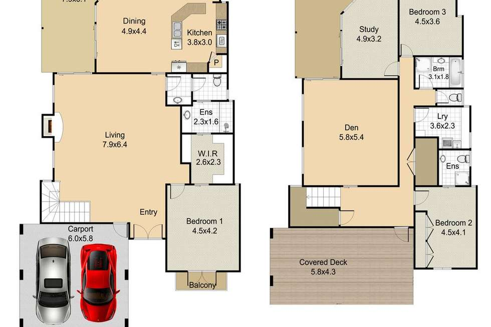 Floorplan of Homely house listing, 90 Willmington Street, Newmarket QLD 4051