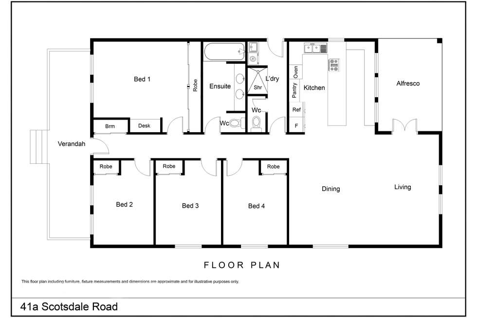 Floorplan of Homely house listing, 41A Scotsdale Road, Denmark WA 6333