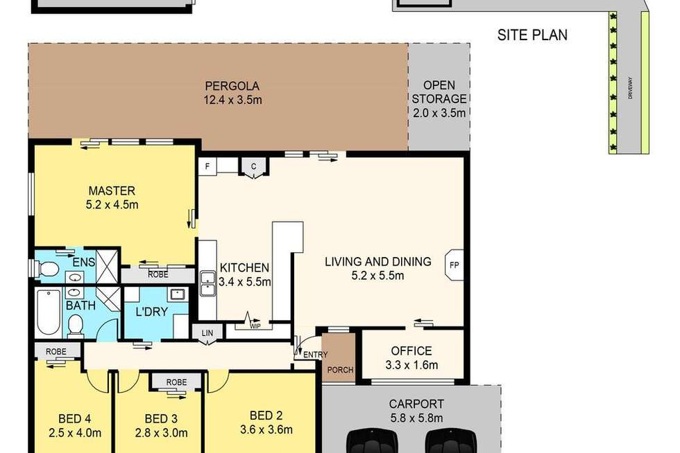 Floorplan of Homely house listing, 39 Red House Crescent, Mcgraths Hill NSW 2756