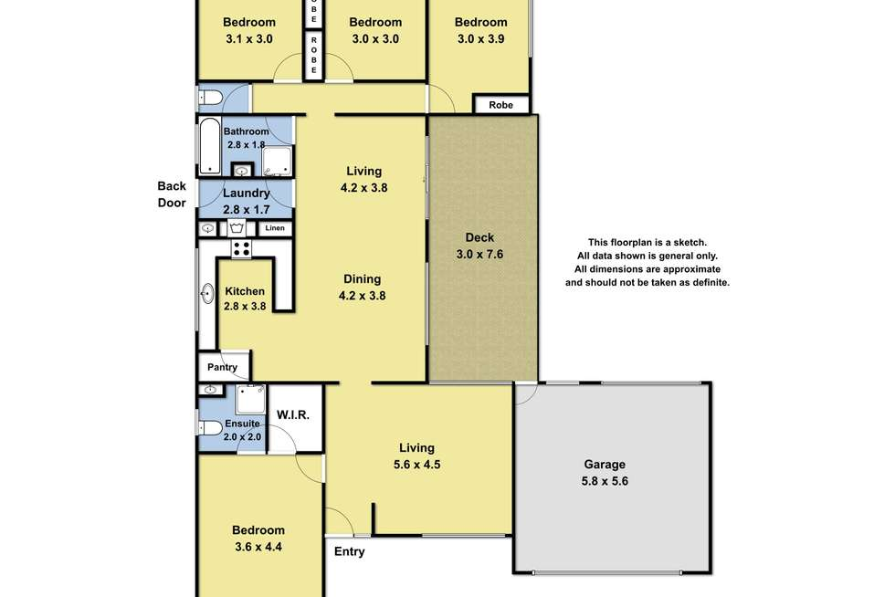 Floorplan of Homely house listing, 17 Carapooka Way, Cowes VIC 3922