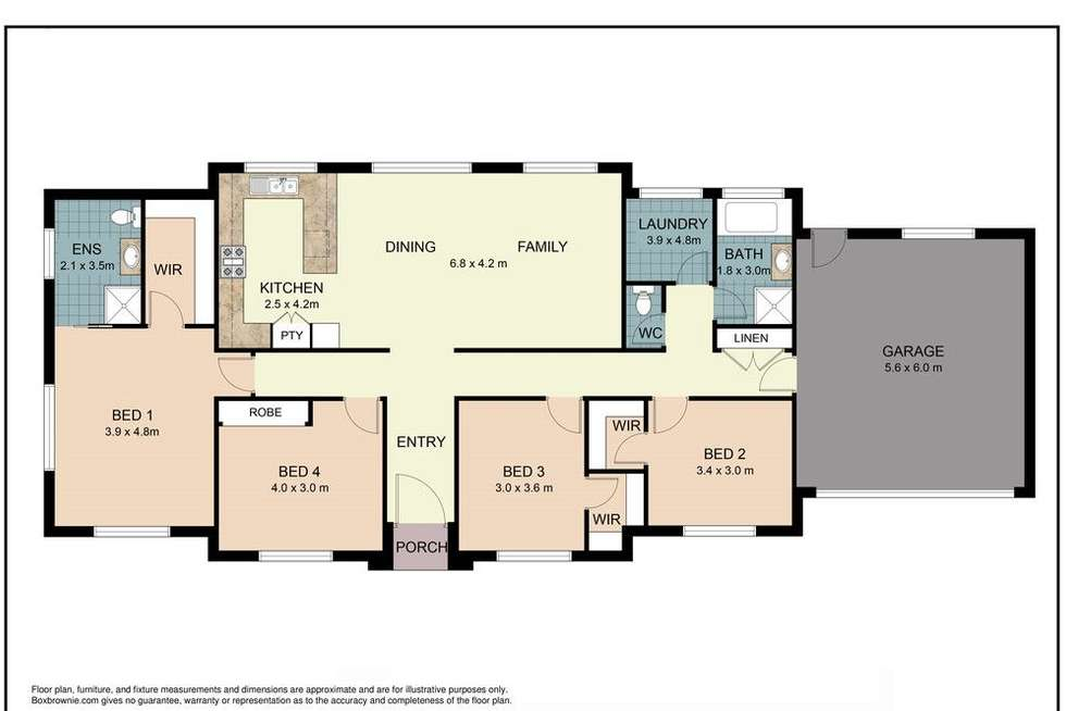 Floorplan of Homely house listing, 27 Bradman Drive, Currumbin Valley QLD 4223