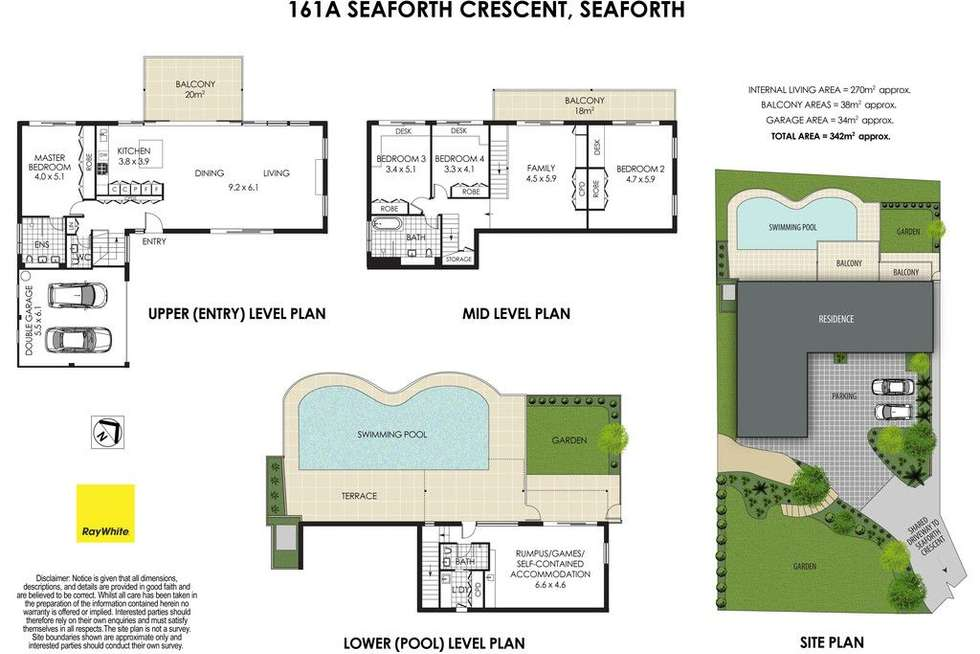 Floorplan of Homely house listing, 161A Seaforth Crescent, Seaforth NSW 2092