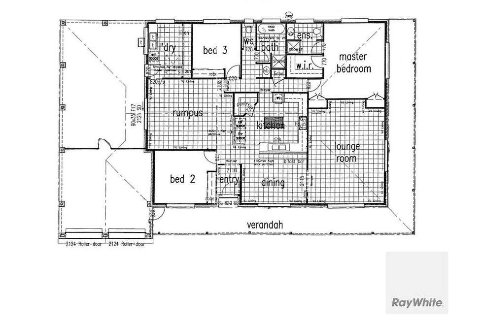 Floorplan of Homely house listing, 27 Fairlane Street, Joyner QLD 4500