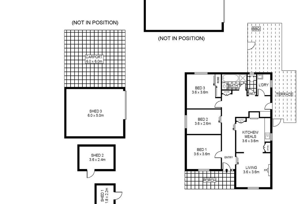 Floorplan of Homely house listing, 42 Barkly Street, Dunolly VIC 3472