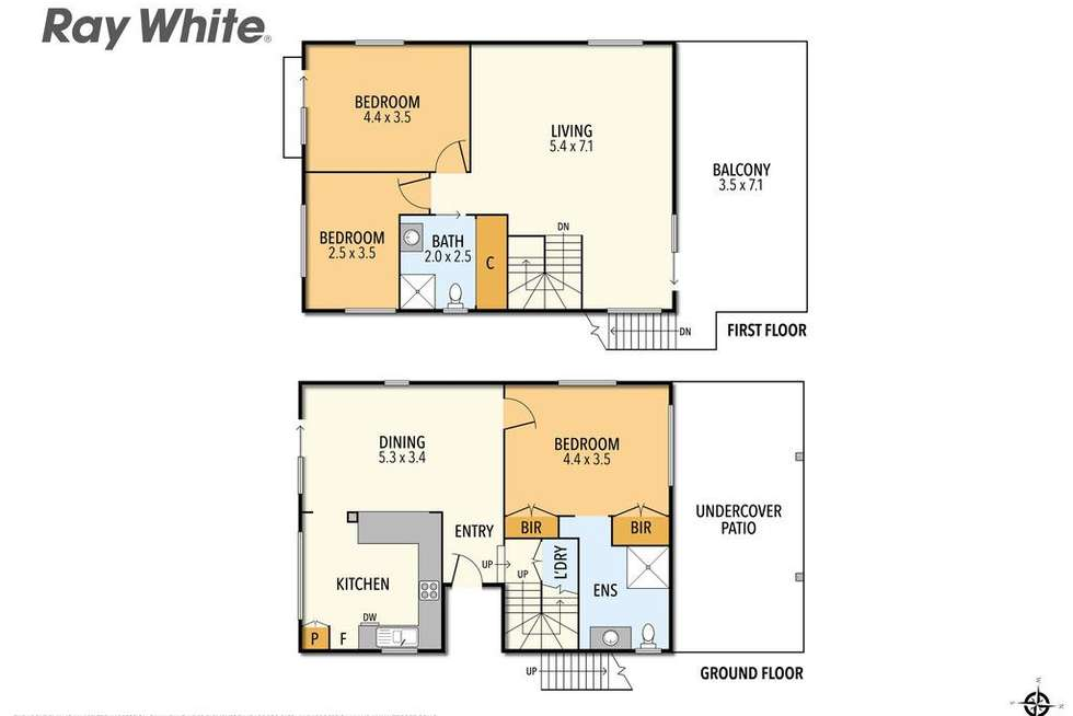 Floorplan of Homely house listing, 30 Koala Street, Cowes VIC 3922