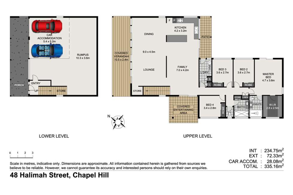 Floorplan of Homely house listing, 48 Halimah Street, Chapel Hill QLD 4069