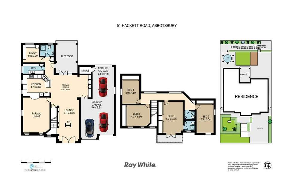 Floorplan of Homely house listing, 51 Hackett Road, Abbotsbury NSW 2176