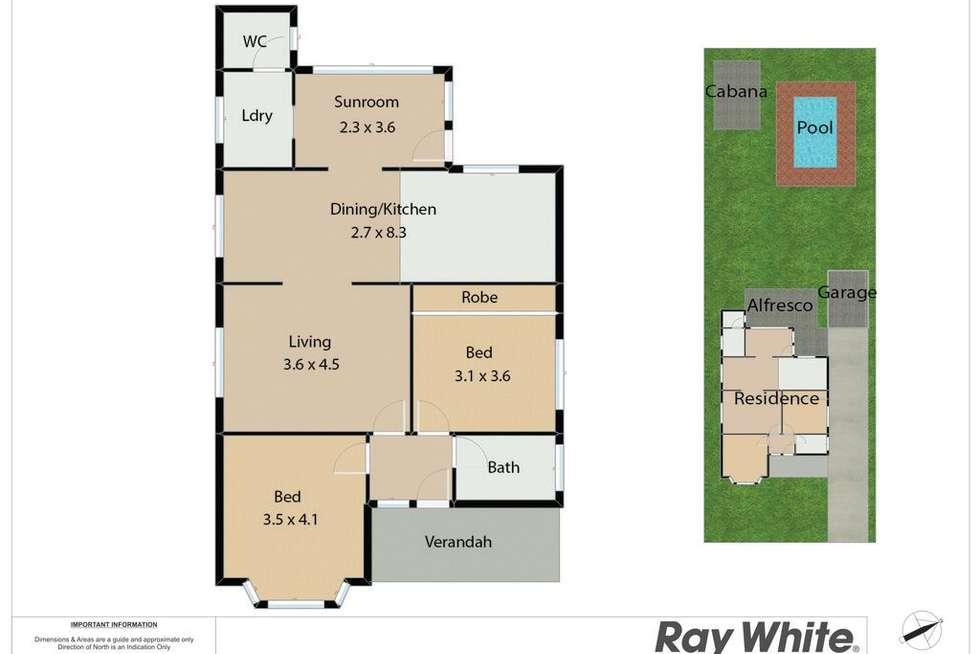 Floorplan of Homely house listing, 56 Kings Road, New Lambton NSW 2305