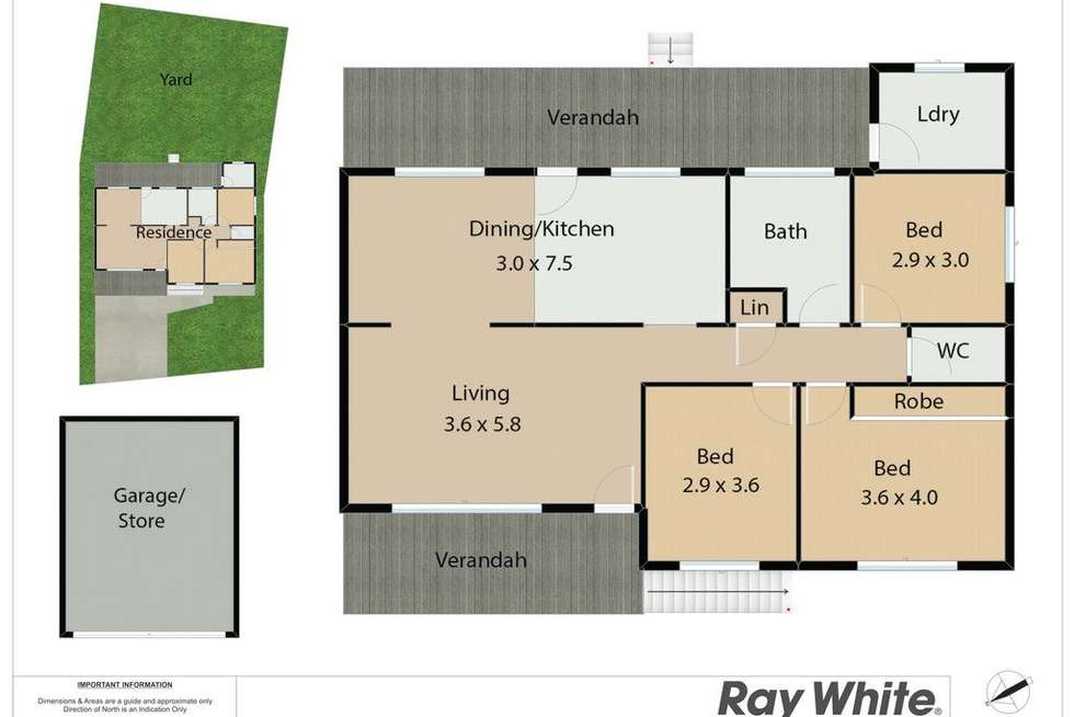 Floorplan of Homely house listing, 29 Nereida Close, Kotara NSW 2289