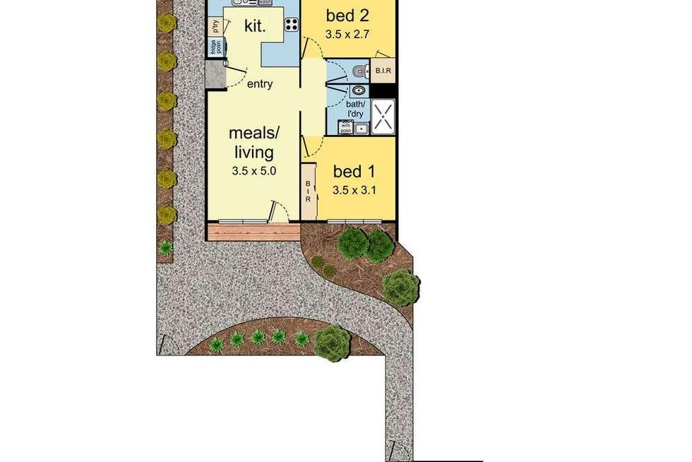 Floorplan of Homely unit listing, U12/8-12 Landale Avenue, Croydon VIC 3136
