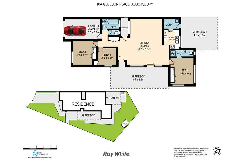Floorplan of Homely other listing, 16A Gleeson Place, Abbotsbury NSW 2176
