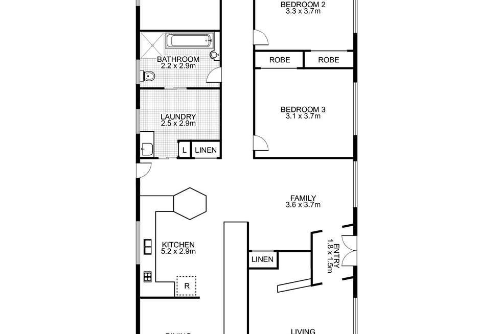 Floorplan of Homely mixedFarming listing, 89 Devoncourt Road, Uralla NSW 2358