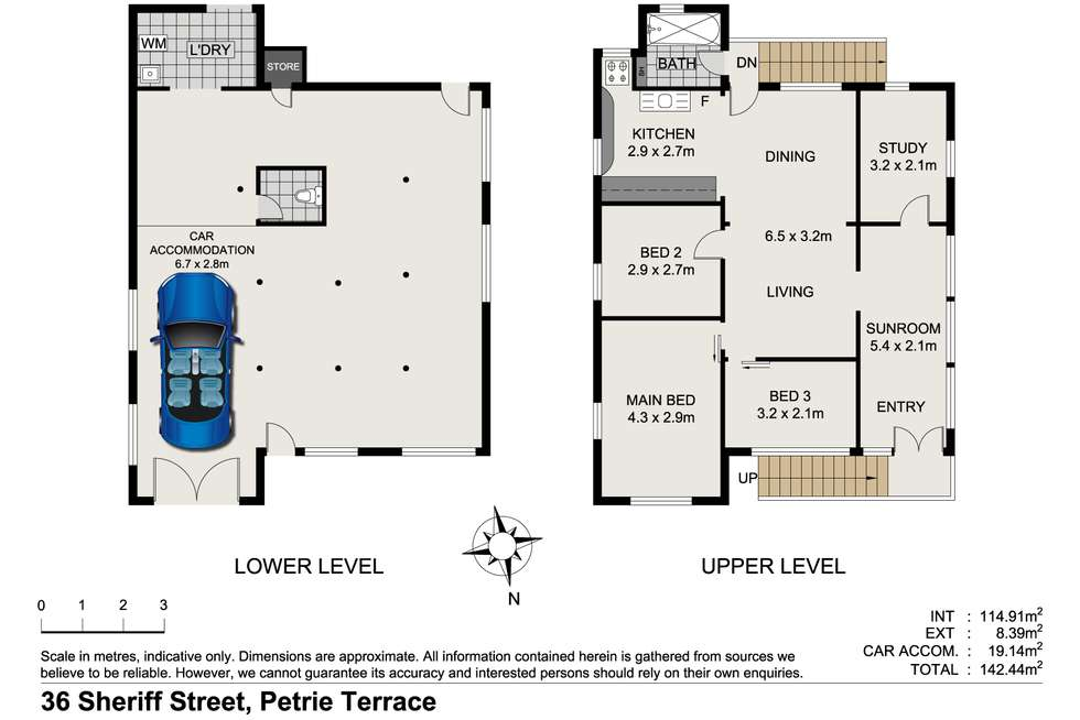 Floorplan of Homely house listing, 36 Sheriff Street, Petrie Terrace QLD 4000