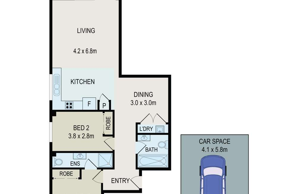 Floorplan of Homely unit listing, 6/75-77 Great Western Highway, Parramatta NSW 2150