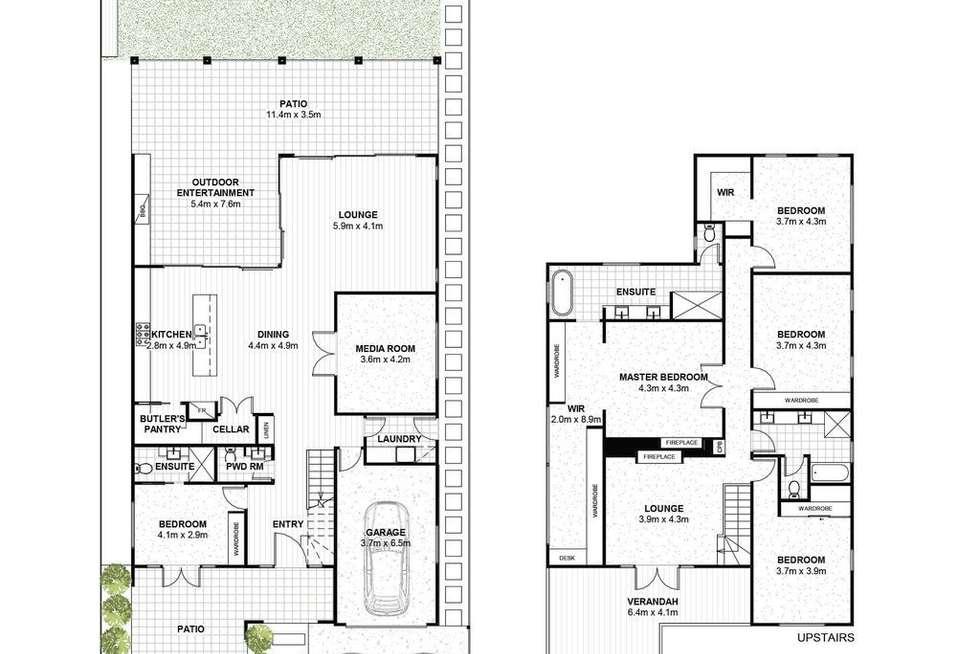 Floorplan of Homely house listing, 64 Charlton Street, Ascot QLD 4007