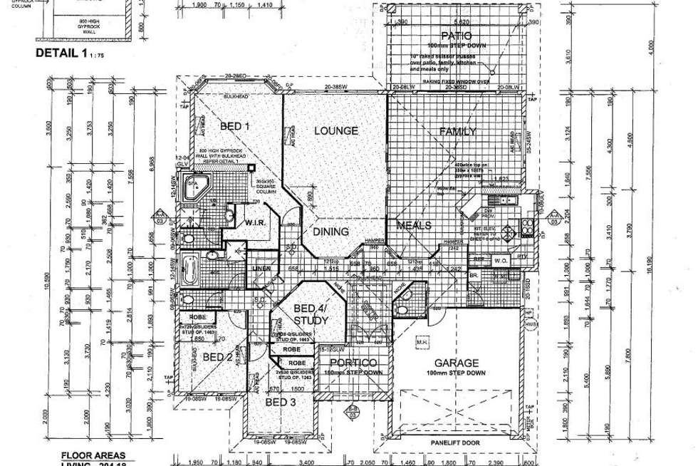 Floorplan of Homely house listing, 56 Sanctuary Crescent, Wongaling Beach QLD 4852