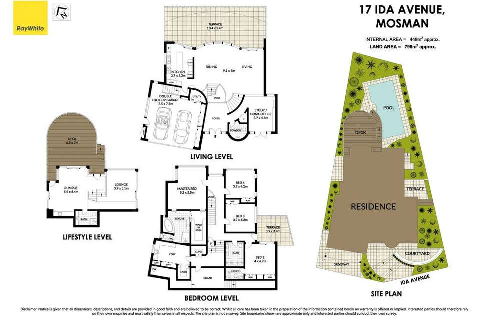 Floorplan of Homely house listing, 17 Ida Avenue, Mosman NSW 2088