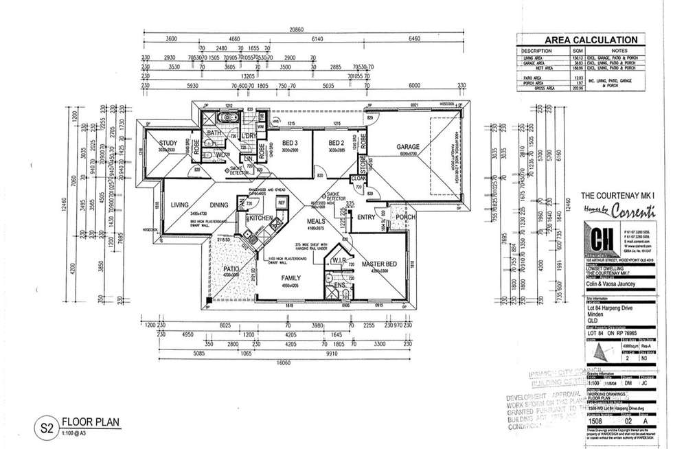 Floorplan of Homely house listing, 23 Harpeng Drive, Minden QLD 4311