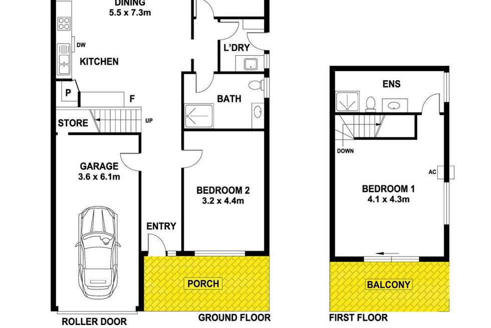 Floorplan of Homely house listing, 10A Charles Carter Way, Edithburgh SA 5583