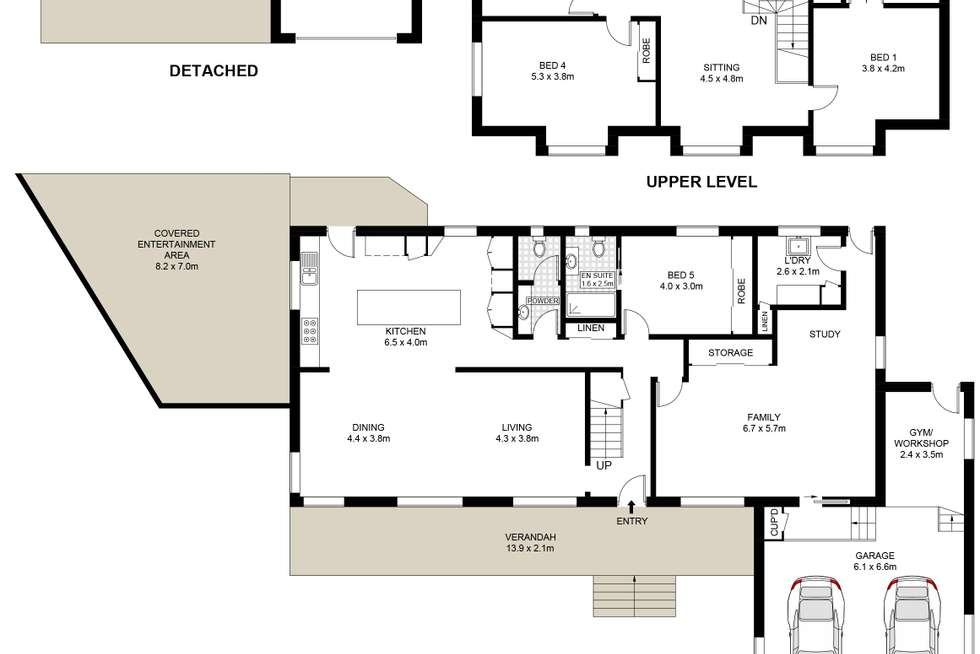 Floorplan of Homely house listing, 49 William Street, Keiraville NSW 2500