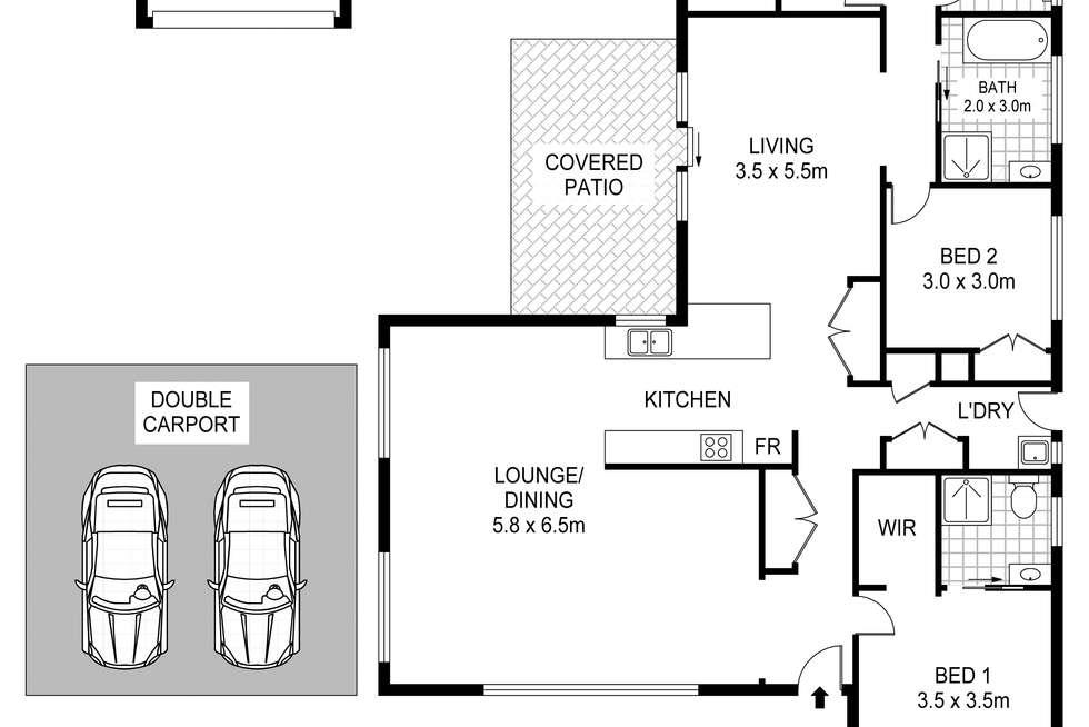 Floorplan of Homely house listing, 13 King Street, Perth TAS 7300