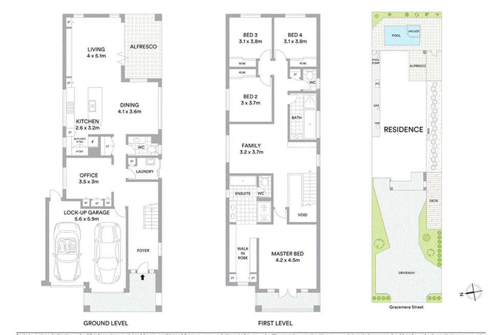 Floorplan of Homely house listing, 75 Gracemere Street, Newmarket QLD 4051