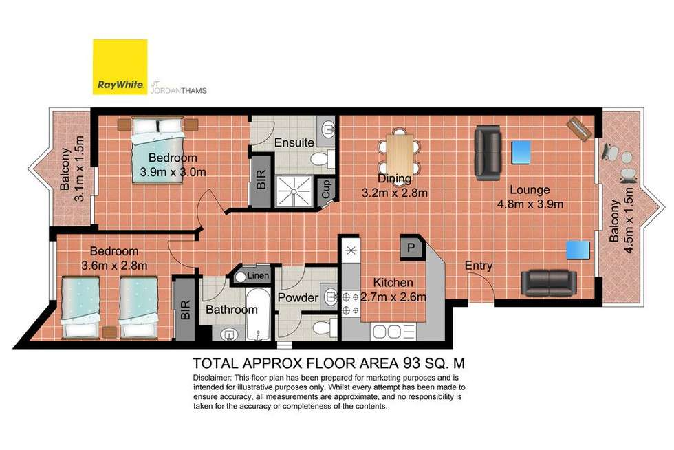 Floorplan of Homely apartment listing, 23 Wharf Road, Surfers Paradise QLD 4217