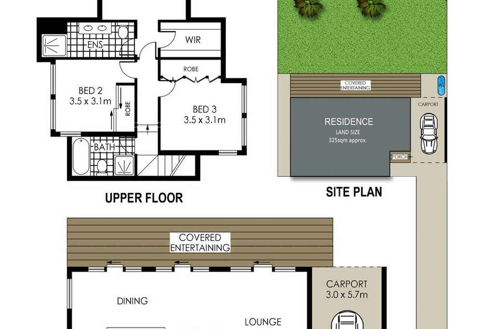 Floorplan of Homely house listing, 15B The Crescent, Mosman NSW 2088