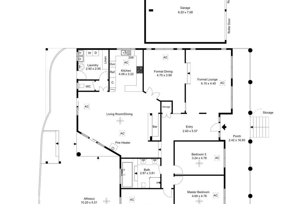 Floorplan of Homely house listing, 20 Wandana Avenue, Seaview Downs SA 5049