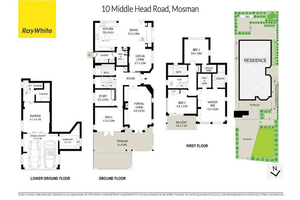 Floorplan of Homely house listing, 10 Middle Head Road, Mosman NSW 2088