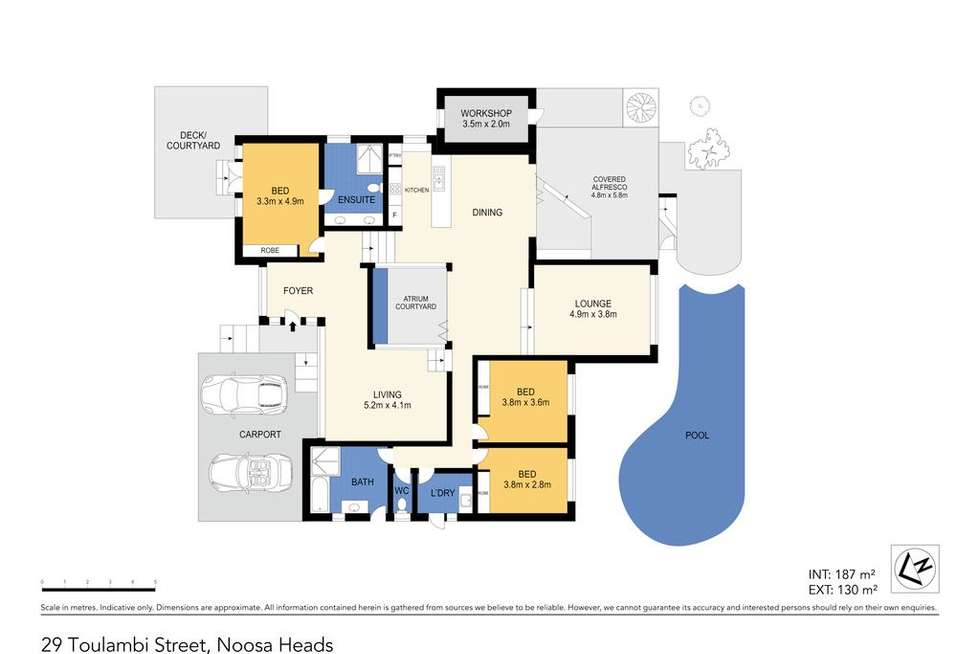 Floorplan of Homely house listing, 29 Toulambi Street, Noosa Heads QLD 4567