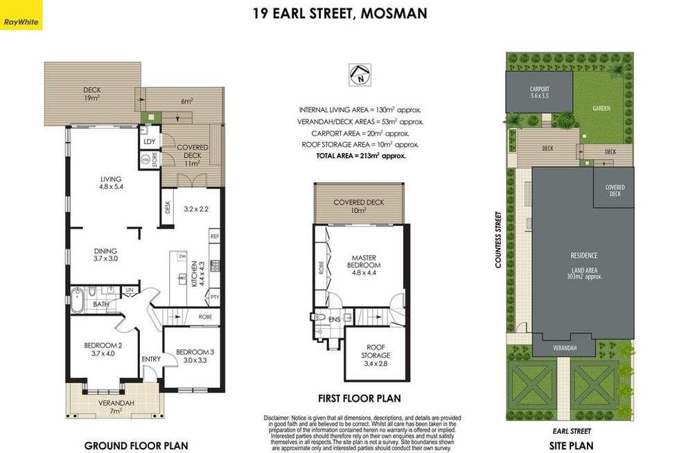 Floorplan of Homely house listing, 19 Earl Street, Mosman NSW 2088