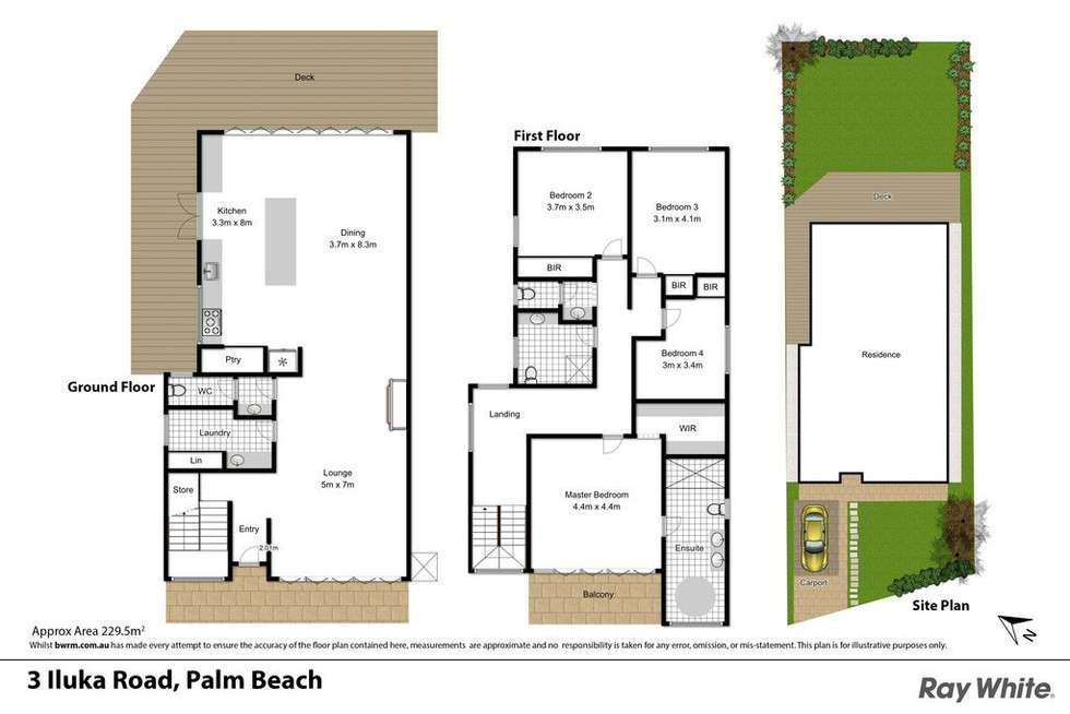Floorplan of Homely house listing, 3 Iluka Road, Palm Beach NSW 2108