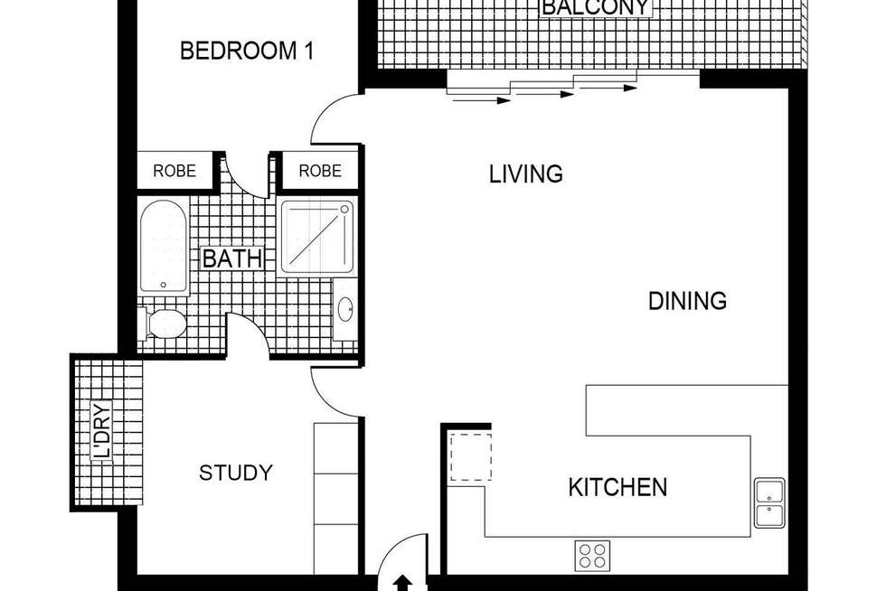 Floorplan of Homely house listing, 28/12 National Circuit, Barton ACT 2600