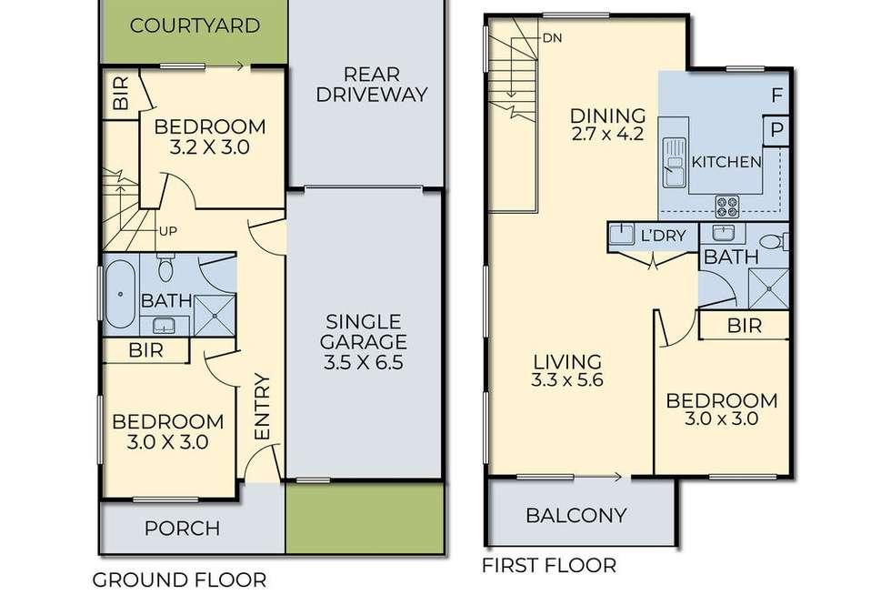 Floorplan of Homely unit listing, 11 Nugget Way, Cranbourne East VIC 3977