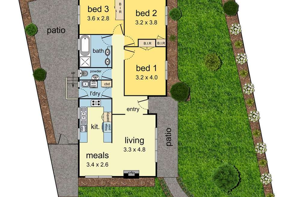 Floorplan of Homely house listing, 10A Caledonia Crescent, Mulgrave VIC 3170